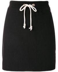 Champion   Drawstring Waist Mini Skirt   Lyst