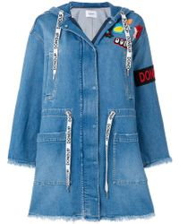 Dondup | Denim Parka | Lyst