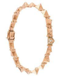 Anita Ko - Small Spike Bracelet - Lyst