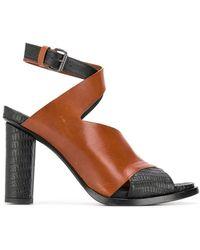 f4b7b02f52f A.F.Vandevorst - Block Heel Sandals - Lyst