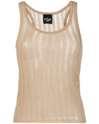 Michel Klein - Sleeveless Knit Top - Lyst