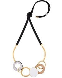 Marni - Circular Pendant Necklace - Lyst