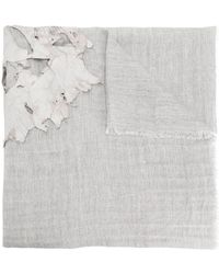 Cutuli Cult - Distressed Layer Detail Large Scarf - Lyst