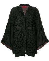 Di Liborio - Laser Net Oversize Jacket - Lyst