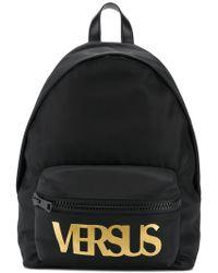 Versus - Logo Backpack - Lyst