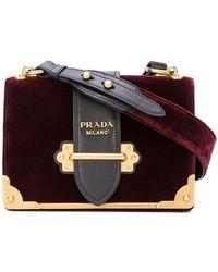 Prada - Cahier Mini Bag - Lyst