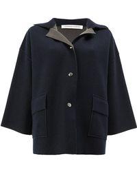 Lamberto Losani | Cropped Sleeve Coat | Lyst