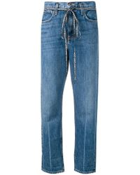 Proenza Schouler - Pswl Paperbag Jeans - Lyst
