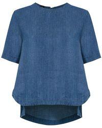 Osklen - Short Sleeved Top - Lyst