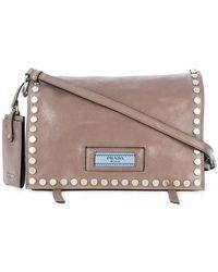 Prada - All Designer Products - Etiquette Shoulder Bag - Lyst