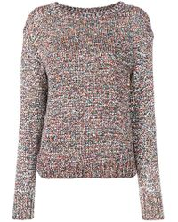 Closed - Rainbow Speckled Jumper - Lyst