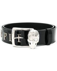Philipp Plein - Skull Detail Belt - Lyst