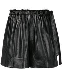 Helmut Lang - Paperbag Waist Shorts - Lyst