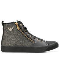 Emporio Armani - Hi-top Sneakers - Lyst