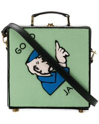 Olympia Le-Tan - 'Go To Jail' Schultertasche - Lyst