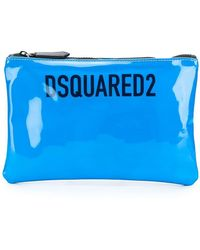 DSquared² - Patent Leather Pouch - Lyst