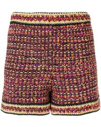 M Missoni - Tweed Shorts - Lyst