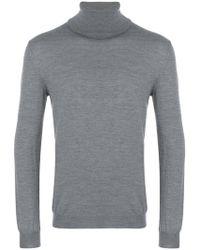 Zanone - Roll Neck Sweatshirt - Lyst