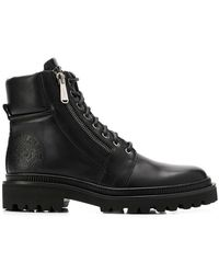Balmain - Army Lace-up Boots - Lyst