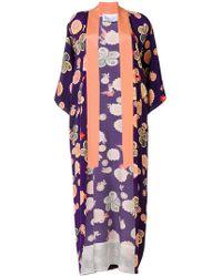 Racil - Floral Print Kimono Coat - Lyst