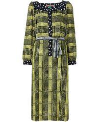 Duro Olowu Tunika-Kleid mit Print