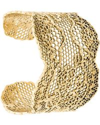 Aurelie Bidermann - Cuff Bracelet - Lyst