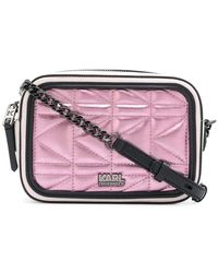 Karl Lagerfeld - Quilted Camera Bag - Lyst