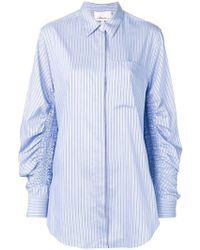 3.1 Phillip Lim - Striped Oversized Shirt - Lyst