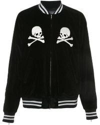 Mastermind Japan - Embroidered Skull Bomber Jacket - Lyst