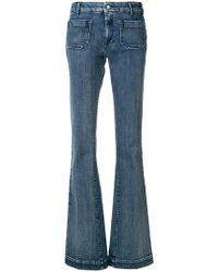 The Seafarer - Panel Detail Flared Jeans - Lyst