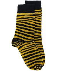 Stella McCartney | Tiger Stripe Socks | Lyst