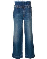 Maison Margiela | Drawstring High-waisted Trousers | Lyst