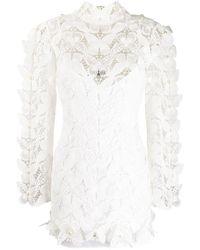 David Koma - Butterfly Lace Dress - Lyst