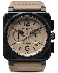 ec2dab17ec24 Bell   Ross - Reloj BR 03-94 Desert Type Ceramic - Lyst