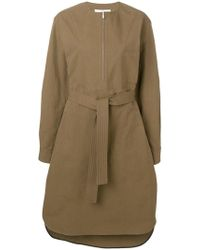 Golden Goose Deluxe Brand - Robe-chemise à ceinture à la taille - Lyst fcdbe4aae