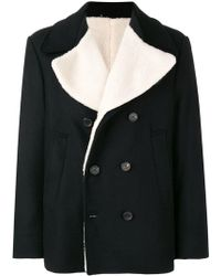 Golden Goose Deluxe Brand - Double-breasted Fitted Coat - Lyst