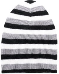Sonia Rykiel - Striped Beanie Hat - Lyst