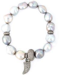 Loree Rodkin - Embellished Bracelet - Lyst