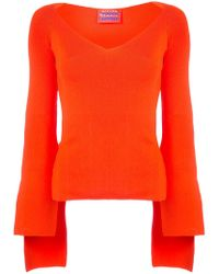 Solace London - Scoop Neck Sweater - Lyst