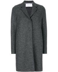 Harris Wharf London - Single-breasted Coat - Lyst