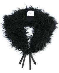 Blugirl Blumarine - Faux-fur Collar - Lyst