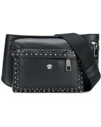 Versace - Studded Medusa Waist Bag - Lyst