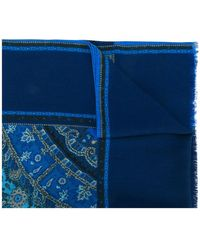 Etro - Patterned Long Scarf - Lyst