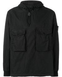 Stone Island - Hooded Pullover Jacket - Lyst