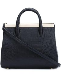 Thomas Wylde - Embossed Crocodile Effect Tote - Lyst
