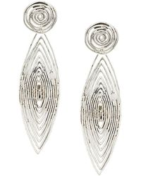 Gas Bijoux - Long Wave Earrings - Lyst