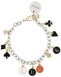 DIESEL - Luck Charm Bracelet - Lyst
