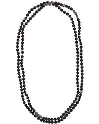 Tateossian - Mesh Bead Necklace - Lyst