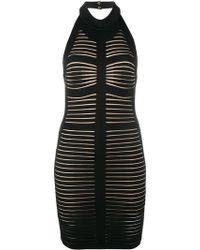 Balmain - Backless Bodycon Dress - Lyst