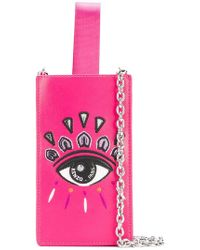 KENZO - Embroidered Iphone Crossbody Case - Lyst